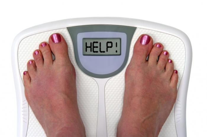 Virtual gastric band weight loss program